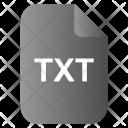 Txt Text File Icon