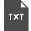 Text File Extension File File Icon