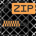 Type Zip File Icon
