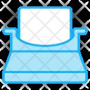 Type Writer Icon
