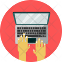 Type Hand Page Icon