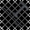 Type Path Design Icon