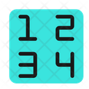 Type Number Keyboard Icon