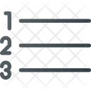 Type Paragraph Line Icon