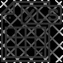 Type Xls File Icon
