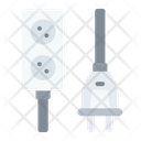 Type C Electrical Port Connector Cable Icon