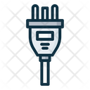 Type K Electrical Cable Icon