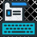 Type Resume Icon