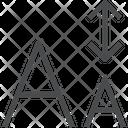 Type Size Icon