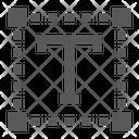 Type Tool Design Icon