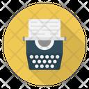 Typewrite Keys Typing Icon