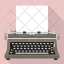 Vintage Typewriter Icon