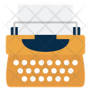 Typewriter Typing Keys Icon