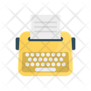 Typewriter Keys Typing Icon