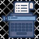 Typewriter Typing Typing Machine Icon
