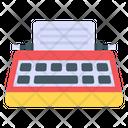 Writing Machine Stenographer Typewriter Icon