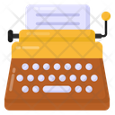 Writing Machine Typewriter Stenography Icon