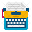 Typewriter Typing Writer Icon
