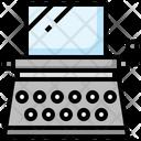 Typewriter Author Type Icon
