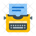 Typewriter Blog Icon