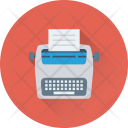Typewriter Type Typer Icon
