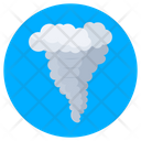 Tornado Hurricane Sea Storm Icon