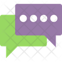 Bubble Of Chat Online Chat Online Communication Icon