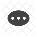 Typing Chat Bubble Icon