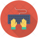 Typing Keyboard Computer Icon