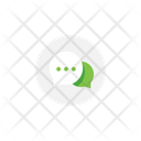 Typing Message Bubble Icon