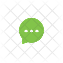 Typing Message Chatting Icon