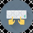Typing Keyboard Programming Icon