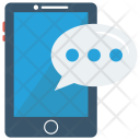 Typing Text Message Icon