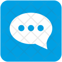Message Dialog Chat Icon