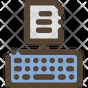 Typing Keyboard Icon