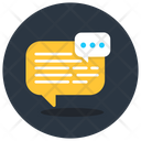 Chat Bubble Message Bubble Typing Message Icon