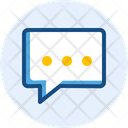 Typing Message Icon