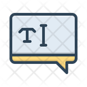 Text Typography Letter Icon