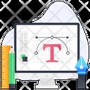 Vector Design Graphic Design Typography Icon