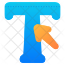 Typography Text Editor Text Icon