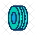 Wheel Disk Vehicle Icon