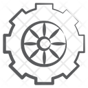 Wheel Vehicle Wheel Car Accessory Icon
