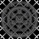 Tyre Automobile Tyre Rim Icon