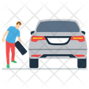Tyre Changing Icon
