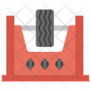 Tyre Checker Workshop Tyre Vehicle Tyre Icon