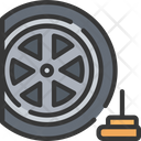 Tyre spike Icon