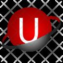 U alphabet Icon