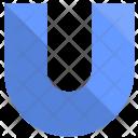 U Design Letter Icon