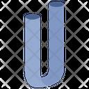U Tube Form Icon