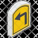 U Turn Return Direction Arrow Icon